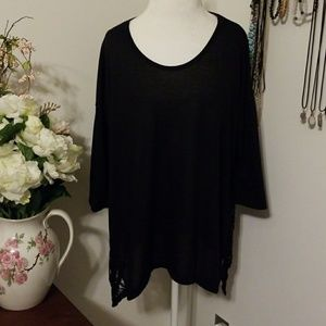 Maurices 3/4 sleeve knit drapey top